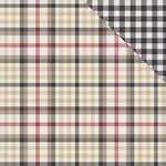 Photo Play Paper - Mad 4 Plaid Collection - Tailored - 12 x 12 Double Sided Paper - Macduff