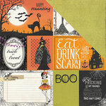 Photo Play Paper - Bootiful Collection - Halloween - 12 x 12 Double Sided Paper - Cards
