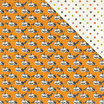 Photo Play Paper - Bootiful Collection - Halloween - 12 x 12 Double Sided Paper - Pumpkins