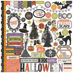 Photo Play Paper - Bootiful Collection - Halloween - 12 x 12 Cardstock Stickers - Elements