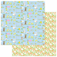 Photo Play Paper - Bunny Trail Collection - 12 x 12 Double Sided Paper - Easter Parade