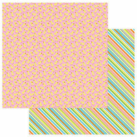 Photo Play Paper - Bunny Trail Collection - 12 x 12 Double Sided Paper - Duck Duck Goose