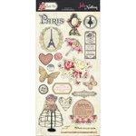 PhotoPlay Paper - Belle Vie Collection - Chipboard Stickers