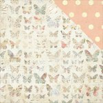 PhotoPlay Paper - Belle Vie Collection - 12 x 12 Double Sided Paper - Butterflies