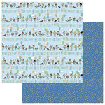 Photo Play Paper - Birthday Boy Wishes Collection - 12 x 12 Double Sided Paper - Birthday Boy