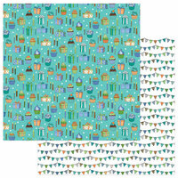 Photo Play Paper - Birthday Boy Wishes Collection - 12 x 12 Double Sided Paper - Make A Wish