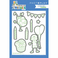 Photo Play Paper - Birthday Boy Wishes Collection - Die Set