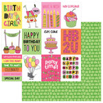 Photo Play Paper - Birthday Girl Wishes Collection - 12 x 12 Double Sided Paper - Celebrate
