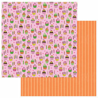 Photo Play Paper - Birthday Girl Wishes Collection - 12 x 12 Double Sided Paper - Hey Cupcake