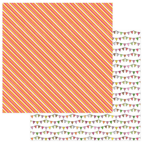 Photo Play Paper - Birthday Girl Wishes Collection - 12 x 12 Double Sided Paper - HB2U