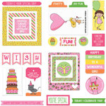 Photo Play Paper - Birthday Girl Wishes Collection - Ephemera