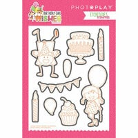 Photo Play Paper - Birthday Girl Wishes Collection - Die Set