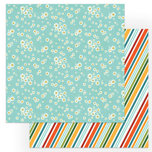 Photo Play Paper - Cabin Fever Collection - 12 x 12 Double Sided Paper - Relax and Play