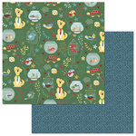 Photo Play Paper - Cooper and Friends Collection - 12 x 12 Double Sided Paper - We Bought A Zoo