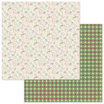 Photo Play Paper - Cooper and Friends Collection - 12 x 12 Double Sided Paper - Go Fetch