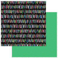Photo Play Paper - Confetti Collection - 12 x 12 Double Side Paper - Make A Wish