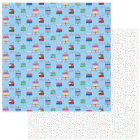 Photo Play Paper - Confetti Collection - 12 x 12 Double Side Paper - Eat Cake