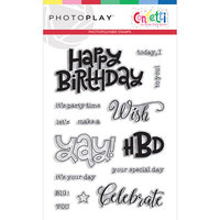 Photo Play Paper - Confetti Collection - Clear Photopolymer Stamps