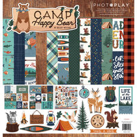 Photo Play Paper - Camp Happy Bear Collection - 12 x 12 Collection Pack
