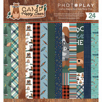 Photo Play Paper - Camp Happy Bear Collection - 6 x 6 Paper Pad