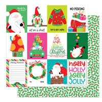 Photo Play Paper - Tulla and Norbert's Christmas Party Collection - 12 x 12 Double Sided Paper - Holly Jolly