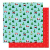 Photo Play Paper - Tulla & Norbert's Christmas Party Collection - 12 x 12 Double Sided Paper - Through The Woods