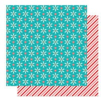 Photo Play Paper - Tulla and Norbert's Christmas Party Collection - 12 x 12 Double Sided Paper - Let It Snow