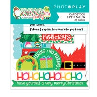 Photo Play Paper - Tulla and Norbert's Christmas Party Collection - Ephemera