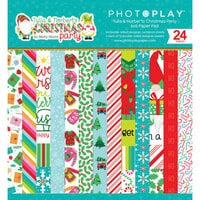 Photo Play Paper - Tulla and Norbert's Christmas Party Collection - 6 x 6 Paper Pad