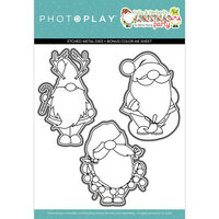 Photo Play Paper - Tulla and Norbert's Christmas Party Collection - Dies - Gnomies