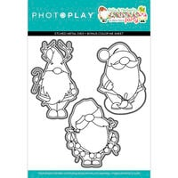 Photo Play Paper - Tulla & Norbert's Christmas Party Collection - Dies - Gnomies