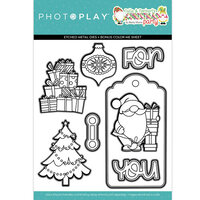 Photo Play Paper - Tulla and Norbert's Christmas Party Collection - Dies - Christmas Morning
