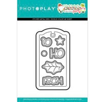 Photo Play Paper - Tulla and Norbert's Christmas Party Collection - Dies - Tag