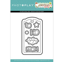 Photo Play Paper - Tulla & Norbert's Christmas Party Collection - Dies - Tag