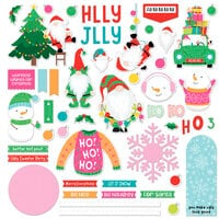Photo Play Paper - Tulla and Norbert's Christmas Party Collection - Card Kit Stickers