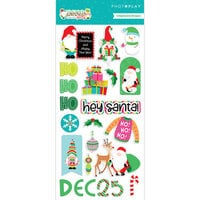 Photo Play Paper - Tulla and Norbert's Christmas Party Collection - 6 x 12 Chipboard