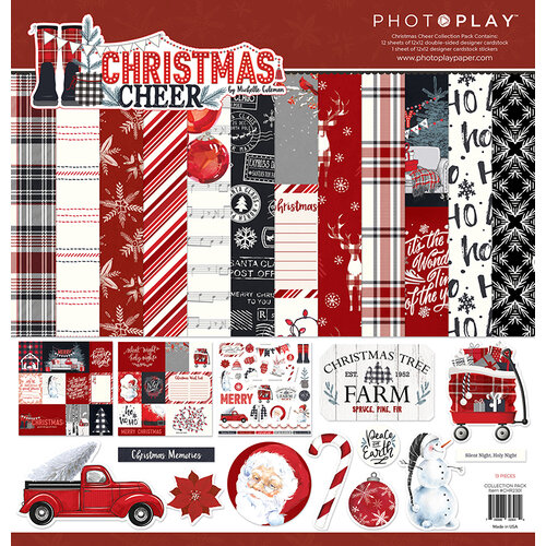 Photo Play Paper - Christmas Cheer Collection - 12 x 12 Collection Pack