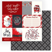 Photo Play Paper - Christmas Cheer Collection - 12 x 12 Double Sided Paper - Deck The Halls