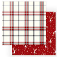 Photo Play Paper - Christmas Cheer Collection - 12 x 12 Double Sided Paper - Cozy Christmas