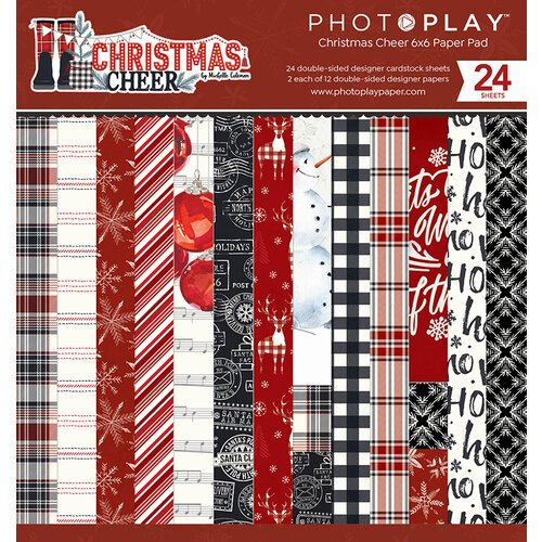 Photo Play Paper - Christmas Cheer Collection - 6 x 6 Paper Pad