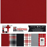 Photo Play Paper - Christmas Cheer Collection - 12 x 12 Paper Pack - Solids