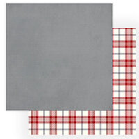 Photo Play Paper - Christmas Cheer Collection - 12 x 12 Double Sided Paper - Grey