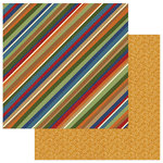 Photo Play Paper - Campfire Collection - 12 x 12 Double Sided Paper - Sleeping Bag