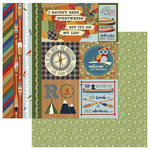 Photo Play Paper - Lakeside Collection - 12 x 12 Double Sided Paper - Lakeside