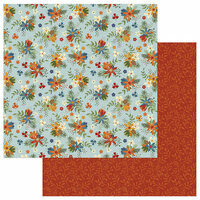 Photo Play Paper - Lakeside Collection - 12 x 12 Double Sided Paper - Wildflowers
