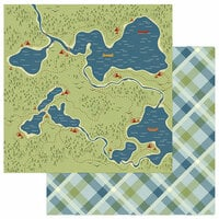 Photo Play Paper - Lakeside Collection - 12 x 12 Double Sided Paper - Hidden Lakes