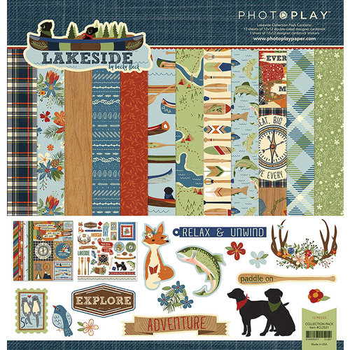 Photo Play Paper - Lakeside Collection - 12 x 12 Collection Pack
