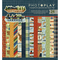Photo Play Paper - 6 x 6 Paper Pad - Lakeside and Campfire