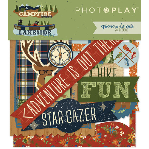 Photo Play Paper - Ephemera - Lakeside and Campfire