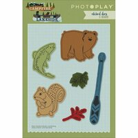 Photo Play Paper - Die Set - Campfire and Lakeside